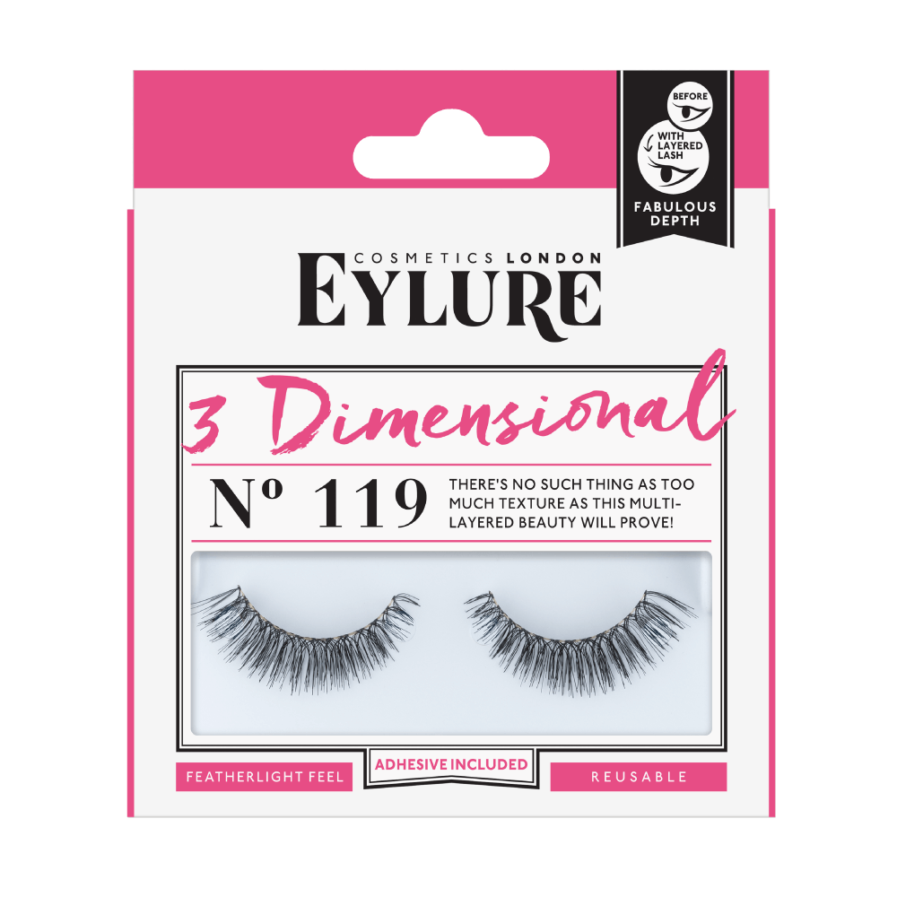 3 Dimensional No. 119 Lashes