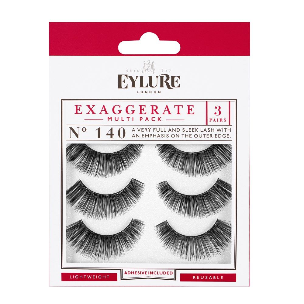 7134cff2910 Eylure Exaggerate 140 Multipack; Eylure Exaggerate 140 Multipack ...