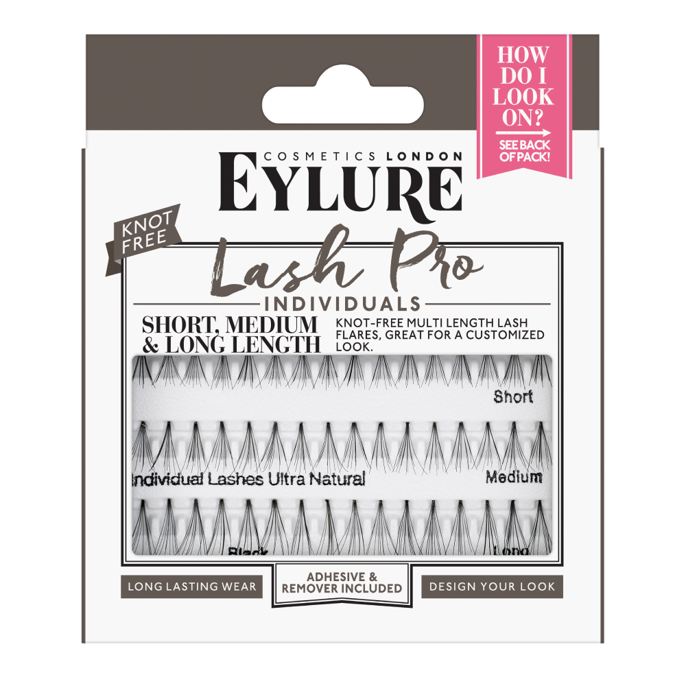 Lash-Pro Individuals - Short, Medium & Long Lashes - Knot Free
