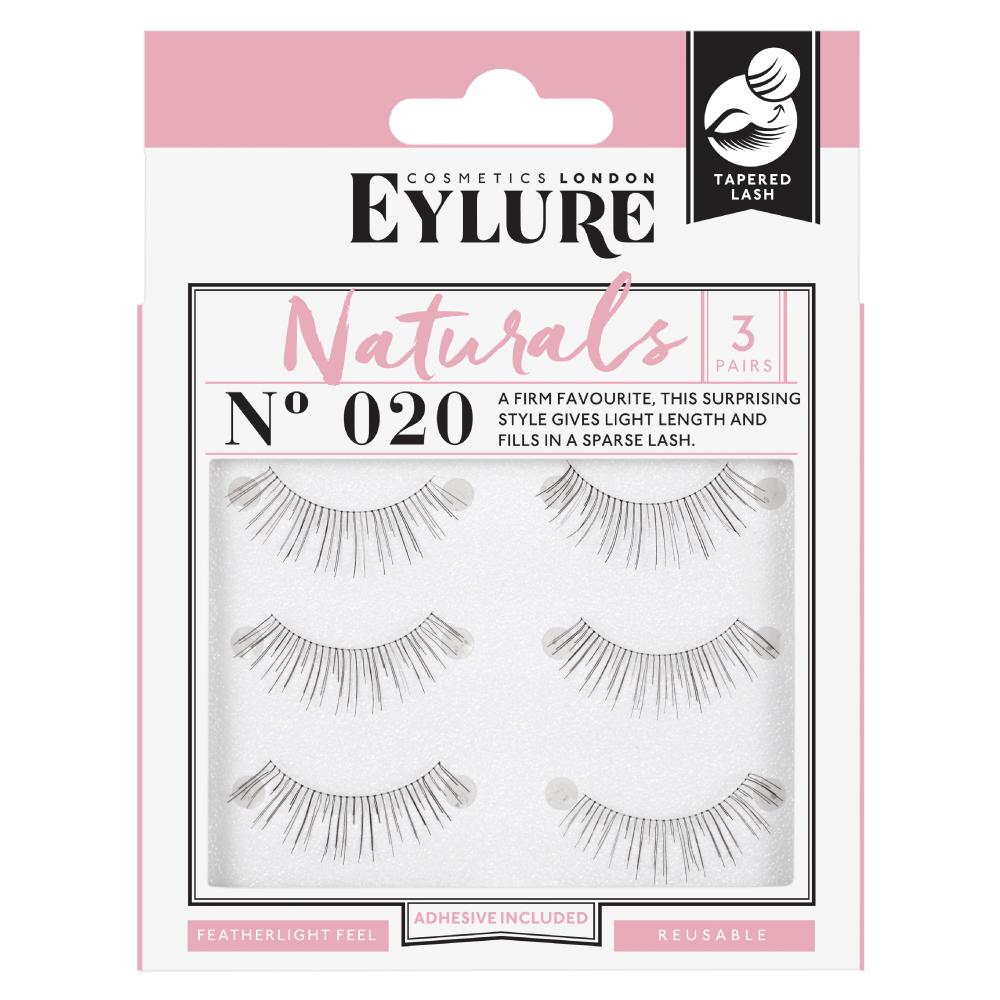 7c02ad24f1c Naturals No. 020 Multipack False Lashes | Fake Eyelashes | Eylure