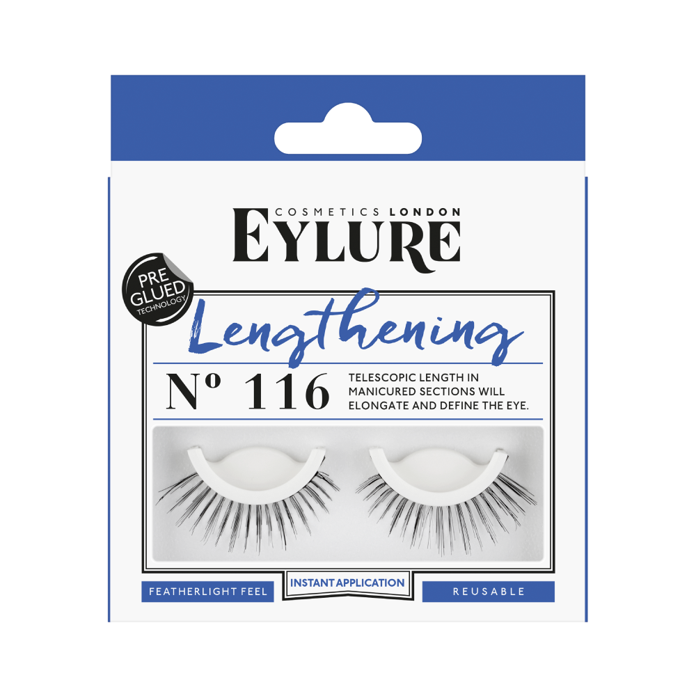 Lengthening No. 116 Lashes - Pre-Glued