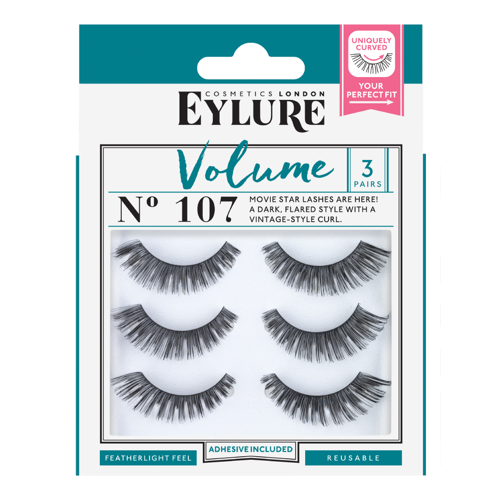 Volume No. 107 Lashes - Multipack