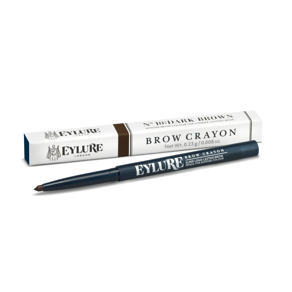 Brow Crayon - No. 10 Dark Brown