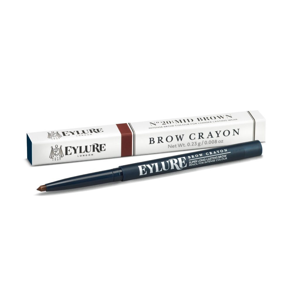 Brow Crayon - No. 20 Mid Brown