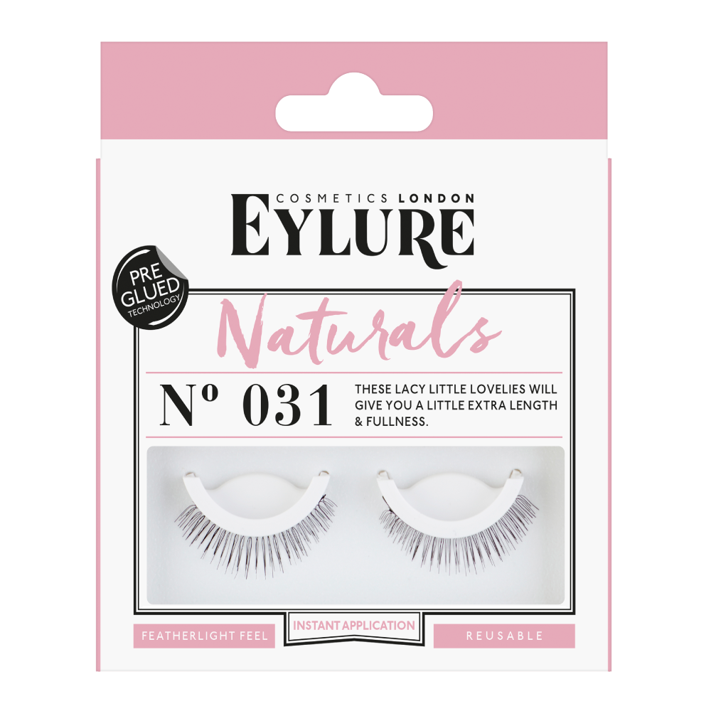 Naturals No. 031 Lashes - Pre-Glued
