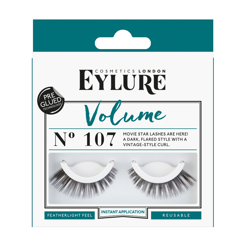 a00b01aecab Volume No. 107 Pre-Glued False Lashes | Fake Eyelashes | Eylure