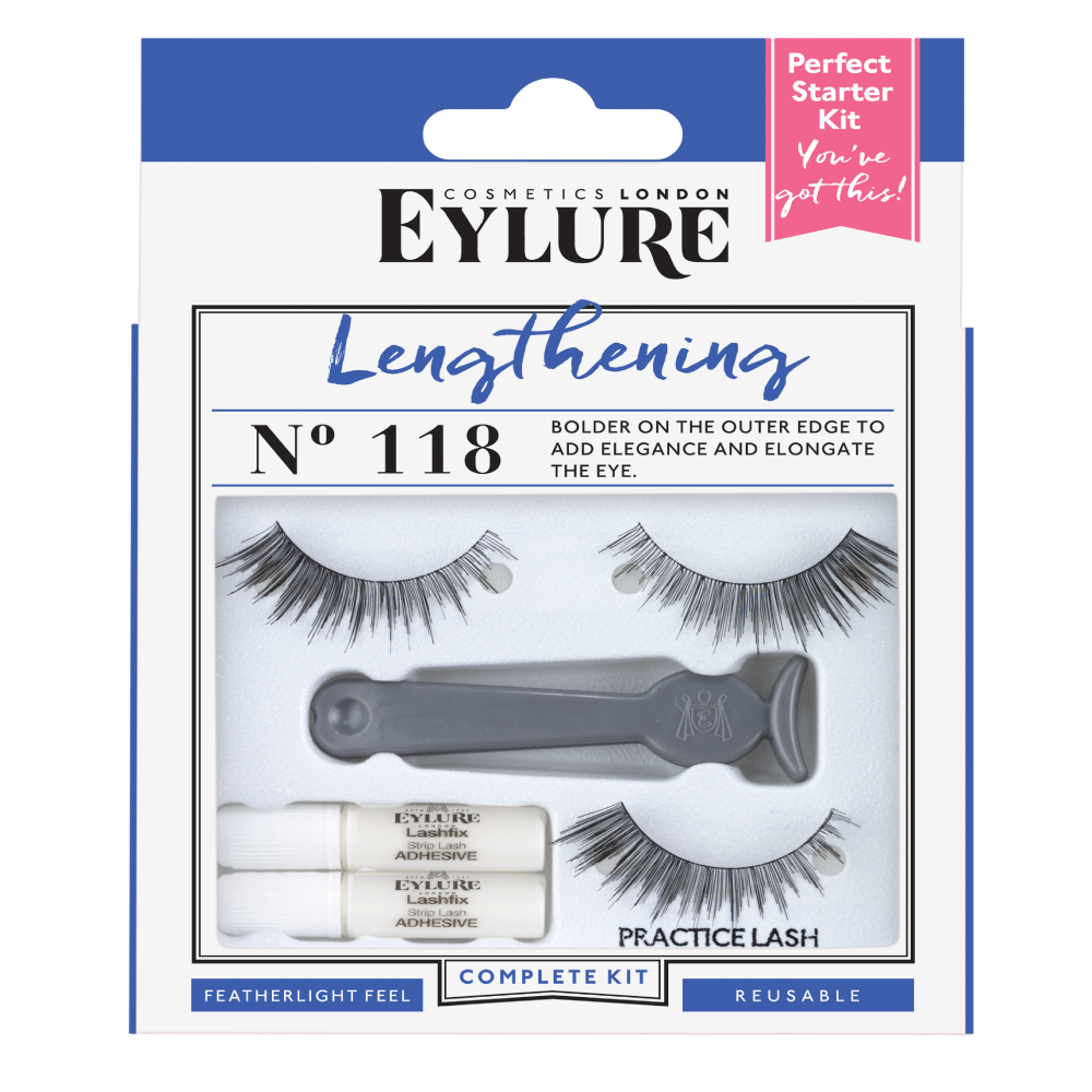 Starter Kit – Lengthening No. 118 Lashes