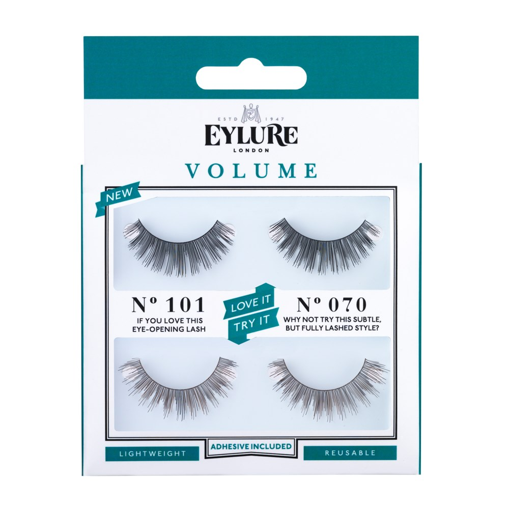 f3f58ea7996 Volume No. 101 / No. 070 Love It Try It False Lashes | Lash Set | Eylure