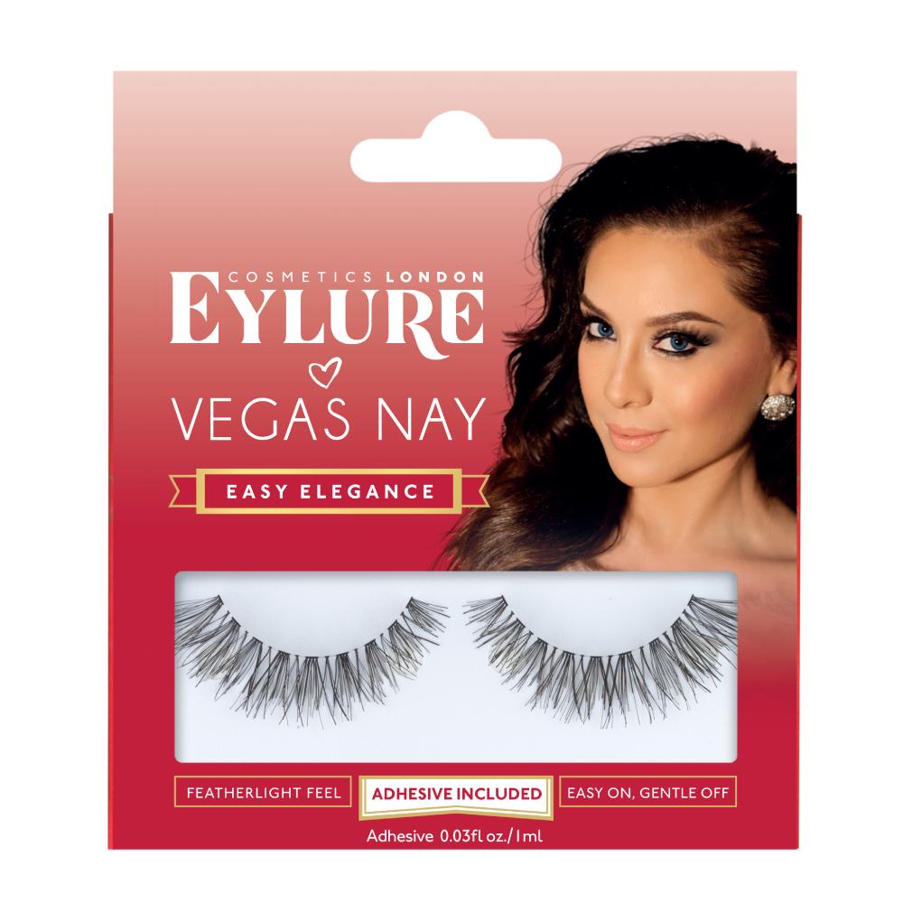 Easy Elegance False Lashes Fake Eyelashes Eylure X Vegas Nay