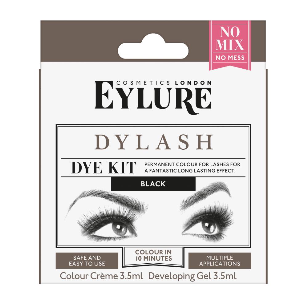 Dylash Eyelash Dye Kit Black Lash Tinting Eylure