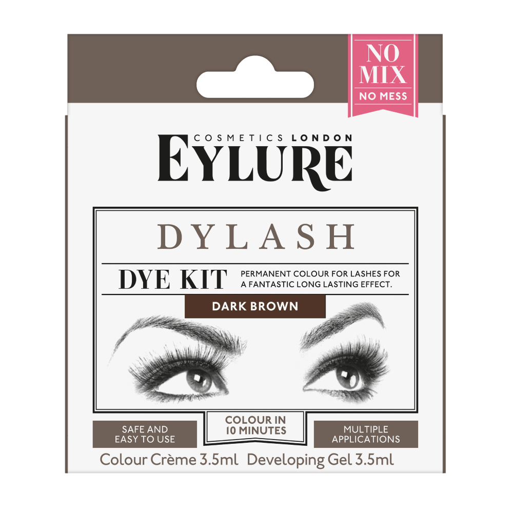 Dark Brown Dylash Dye Kit
