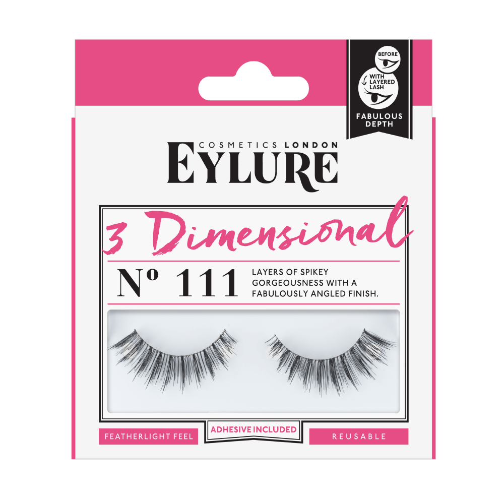 3 Dimensional No. 111 Lashes