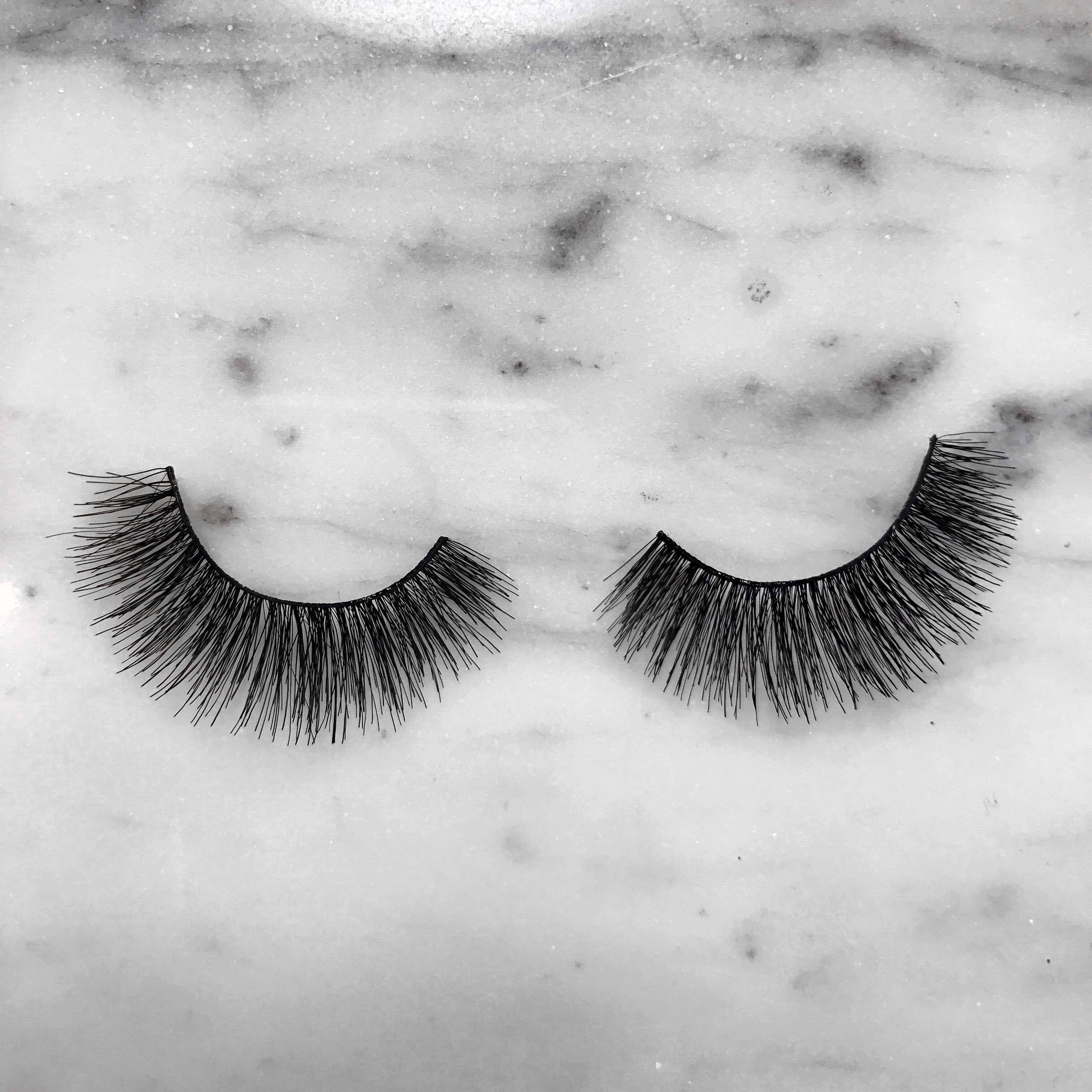 37ff333070e We asked Little Miss Plumful to customise our lush and lengthy No. 141  lashes. Elise also happens to be part French so she decided to go with a  blue, ...