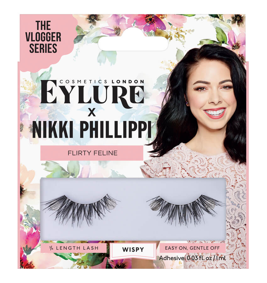 Eylure x Nikki – Flirty Feline Lashes