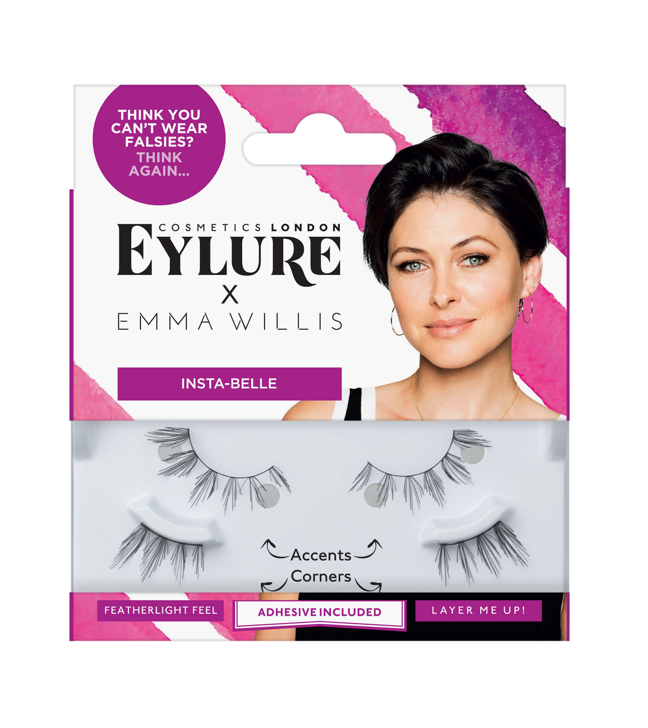 Eylure x Emma Willis - Insta-belle Lashes