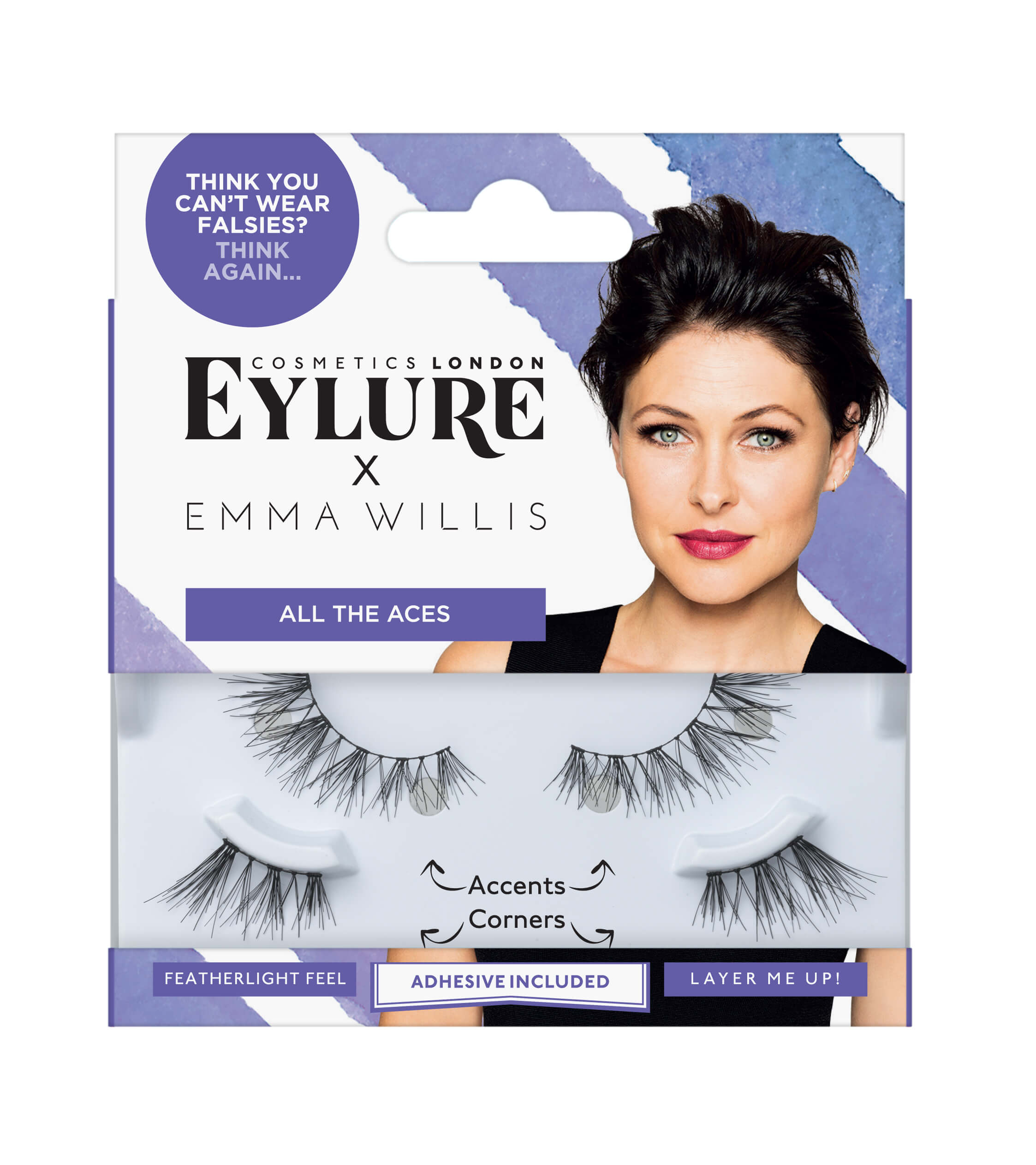 a5be1a41c7d All The Aces False Lashes | Emma Willis x Eylure | Fake Eyelashes