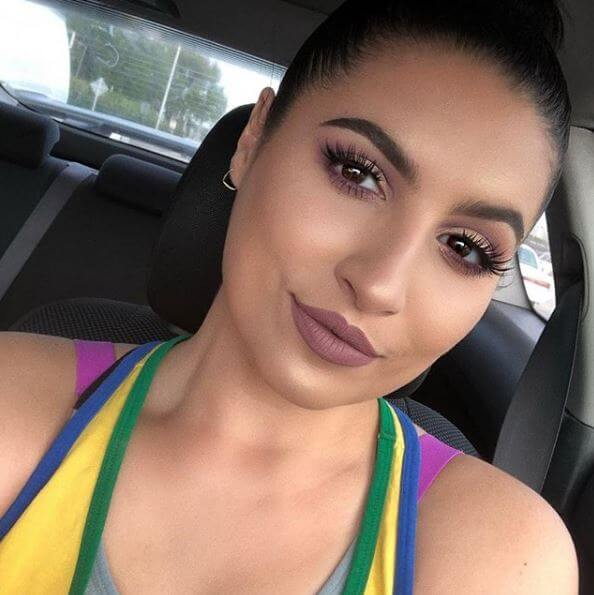 702c824cd0f Looks like @_krystalmarie_ was also feeling the love for our  #EylurexJasmineBrown lashes! Loving the matching eyeshadow and lips in this  makeup look by ...