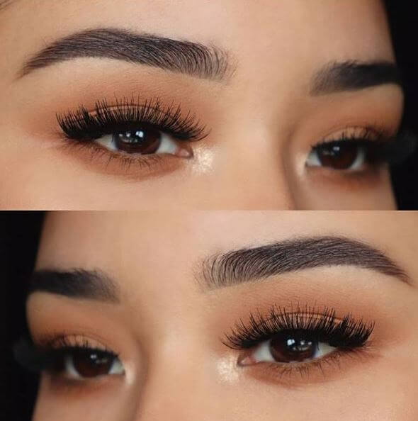 6baa4191d0a @Beautificationbymarta kept it all about those lashes with minimal eye  makeup and our full & fluttery Definition No.121 lashes!