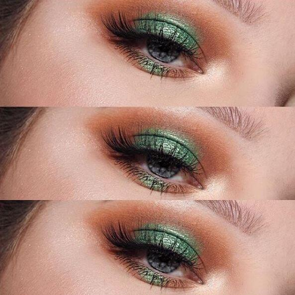 48b8779c1bd Would you dare to go green the next time you glam up? @Hannahukgray shows  how to rock an emerald eye and our luxurious Luxe Opulent lashes in this  look!