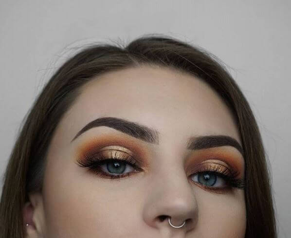 """57c3895c664 A look this glamorous needs our mink-effect Luxe lashes! @Make.up.bee says  """"I used the Baroque lashes with this look to really elongate the eyes  because a ..."""
