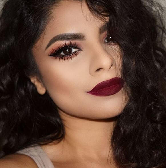 62bb8018866 Completely in love with @sumaira.khann's lipstick shade for this makeup look.  To make this look even more glam, Sumaira used our luxurious Luxe Baroque  ...